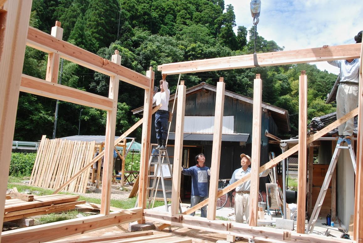 construction d une maison au japon a la campagne au japon page 2