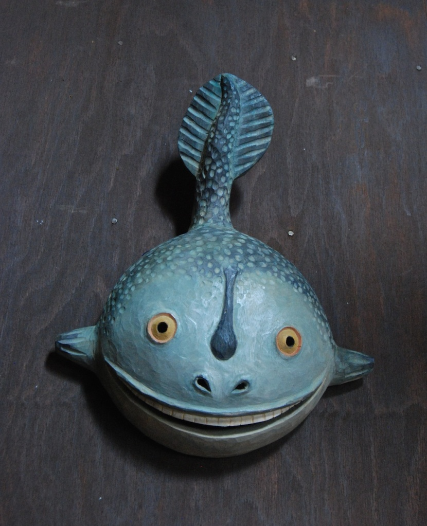 poisson sculpté