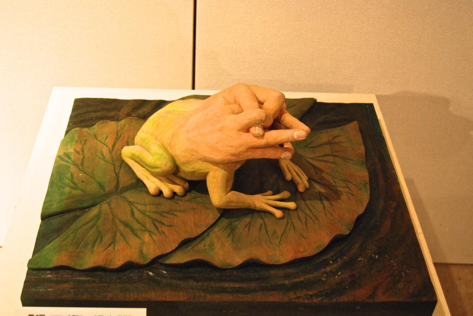 une bien étrange grenouille