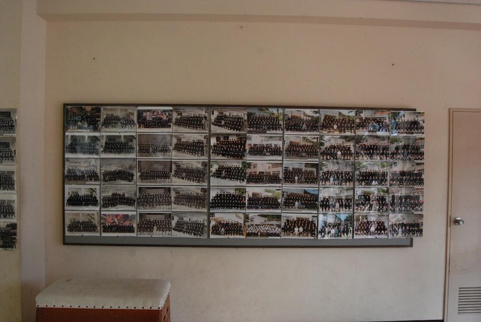 les photos des élèves de l'école