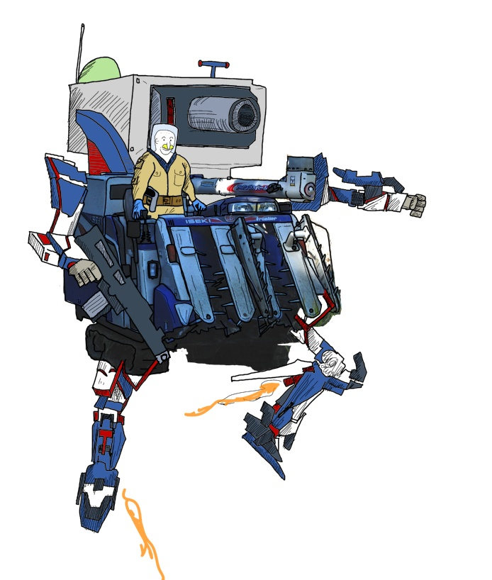 moissonneuse Gundam